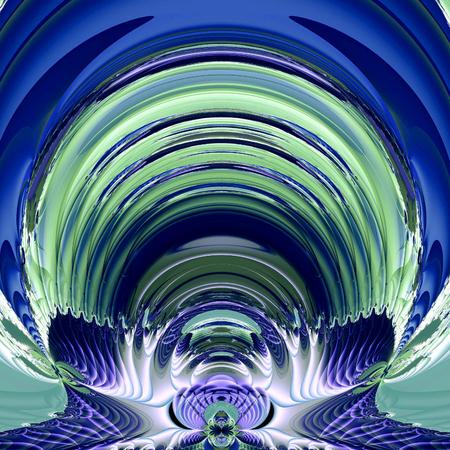 screensavers: fractal illustration of cosmic background astronaut helmet