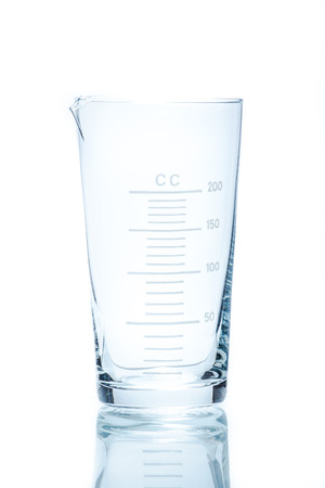resistant: Temperature resistant conical beaker for measurements 200ml