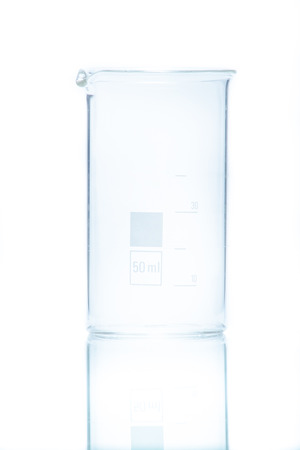 resistant: Temperature resistant cylindrical beaker for measurements 50 ml