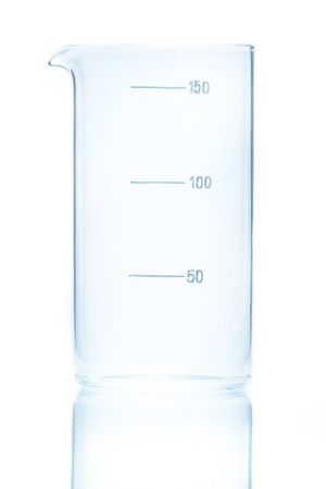 cylindrical: Temperature resistant cylindrical beaker for measurements 150ml