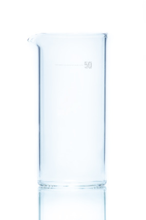cylindrical: Temperature resistant cylindrical beaker for measurements 50ml