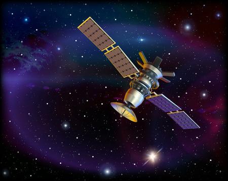 orbital station: Satellite