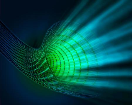 wormhole: 3d image of a wormhole   black hole