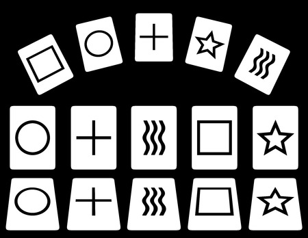 telepathy cards: Zener cards