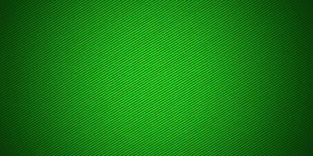 Widescreen green background with a radial gradient and angle strips Stock Photo