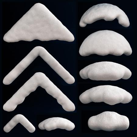 heap snow: Snow Cap
