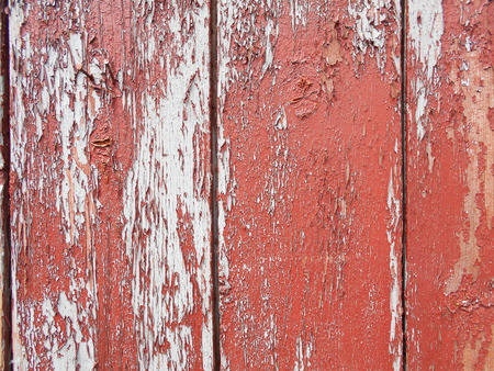 Painted old wooden