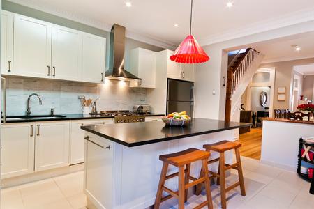 Modern gourmet kitchen interior Reklamní fotografie