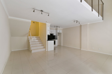 Empty spacious room Reklamní fotografie