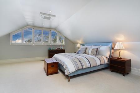 modern bedroom interior Reklamní fotografie