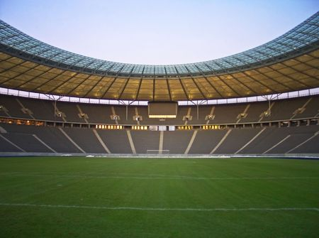 reserved seat: olympic stadium in berlin, germany