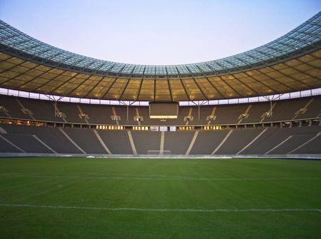 stadium soccer: olympic stadium in berlin, germany