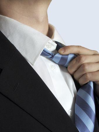 shirt en stropdas pak details