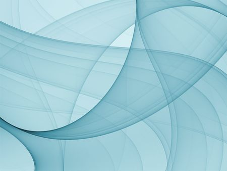 fractal: abstract blue pattern - high quality render