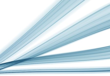 abstract blue stream theme, smooth and silky. Stock Photo