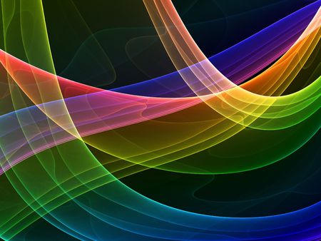 abstract background - colorful high quality rendered image