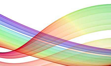 streaming: rendered background: multicolored streaming lines over white