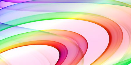 multicolored background - abstract theme with smooth curves Stock Photo - 1015973
