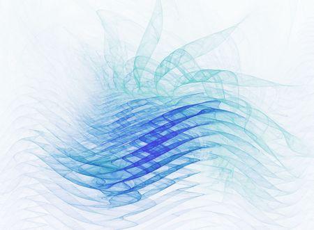 クールな波形 - 抽象的なプロジェクトのテーマを表示