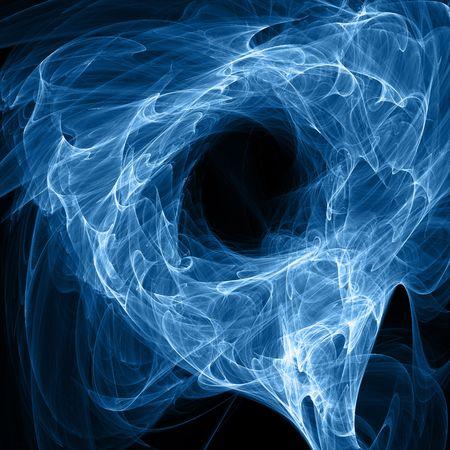 energie abstration op zwarte achtergrond - hq renderen