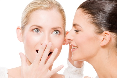 sharing secrets Stock Photo - 12328161