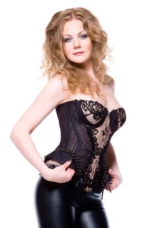 sexy rubia Foto de archivo