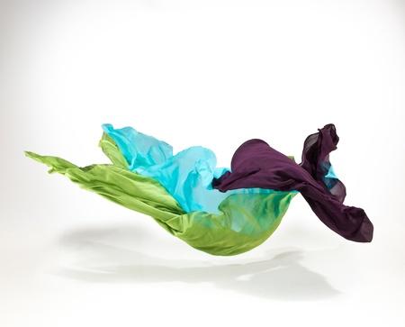 tela seda: tela abstracto en movimiento