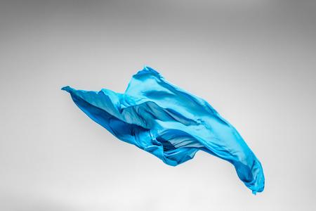 flying fabric - high speed studio shot, art object, design element Reklamní fotografie