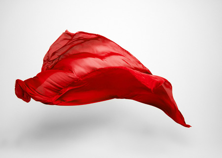 latające tkaniny - wysoka prędkość studio strzał, obiekt sztuki, element projektu Zdjęcie Seryjne
