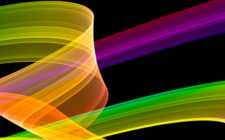 abstract colorful stripe