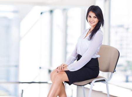 business woman in office Reklamní fotografie