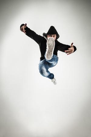 carismático, rapero, bailar, breakdance .photo, luz, Plano de fondo