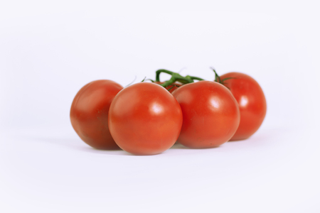 fresh tomatoes .isolated on a white background. Banque d'images - 110928896