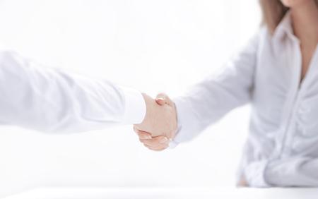 background image of handshake of business partners.close up 免版税图像