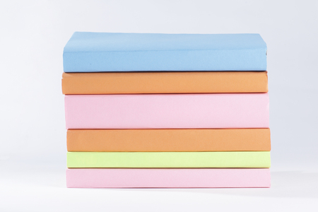 stack of books.isolated on white background.photo with copy space Reklamní fotografie