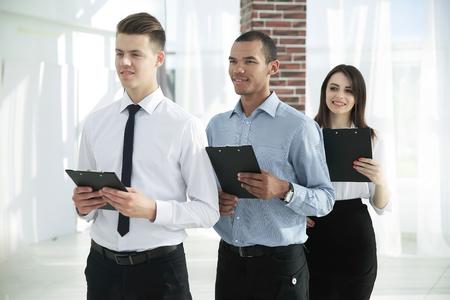 Portrait of an Executive business team on office Фото со стока