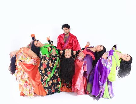 Gypsy dance.a dance show