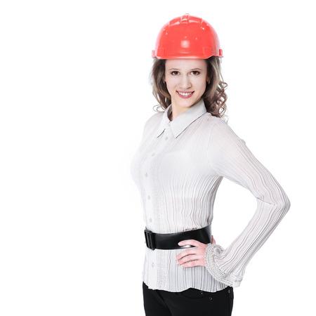 Portrait of confident female engineer Banco de Imagens - 124612813