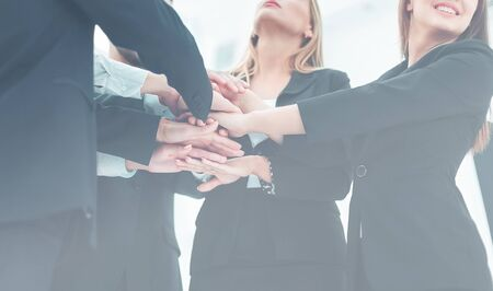 teamwork - the support of friends and success in business