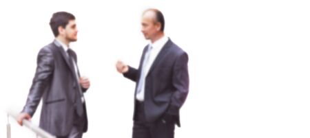 blurred image for the advertising text. photo with copy space. business colleagues discussing business issues Reklamní fotografie