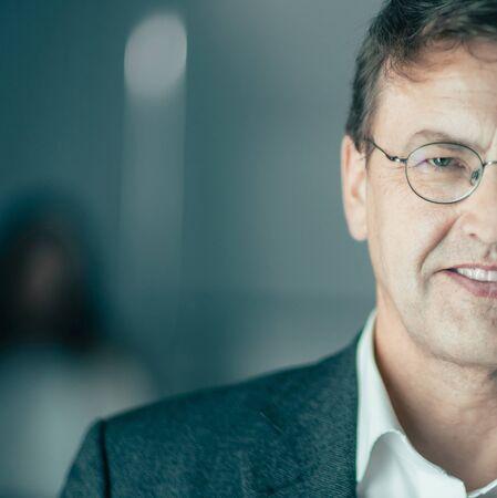 close up. portrait of a modern business man
