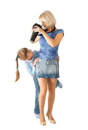 Les photographes de lady-photographe la jeune fille avec plait