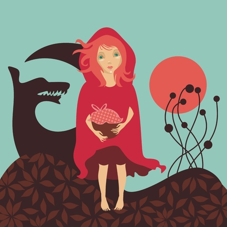 Red Riding Hood Illustration
