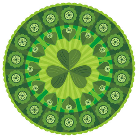 Saint Patrick Decorative Pattern Stock Vector - 12483589