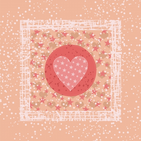 Abstract background for Valentines Day Stock Vector - 17717063