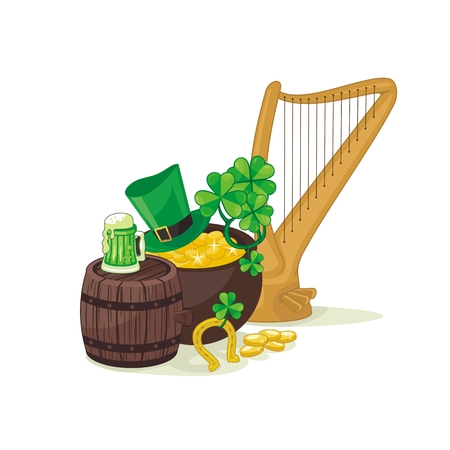 Illustration for St  Patrick Vector
