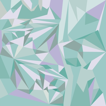 Abstract square background of sharp shapes