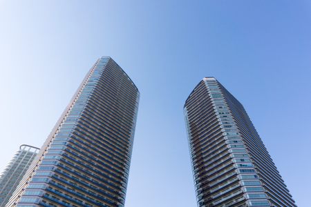 apartment for rent: Tower apartment Stock Photo