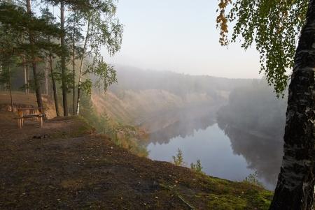 hill of tara: Tara River, Western Siberia, Russia
