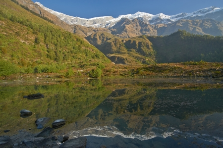 Trekking intorno l'Himalaya Annapurna, Nepa